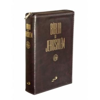 Bíblia de Jerusalém c/ zipper