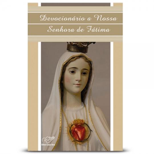Livro Devocionário a Nossa Senhora de Fátima