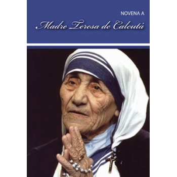 Livro Novena a Madre Teresa...