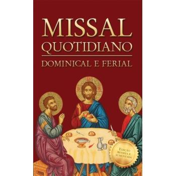 Livro Missal Quotidiano -...