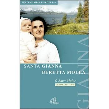 Livro Santa Gianna Beretta...