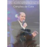 DVD CANÇÕES DE CURA - PE JOÃOZINHO