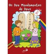 LV OS DEZ MANDAMENTOS DE DEUS - LIVRO COLORIR